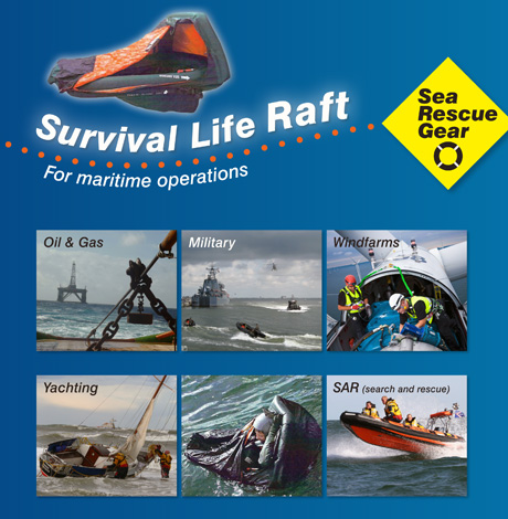 Revolutionary 1 Person Survival Life Raft Launched