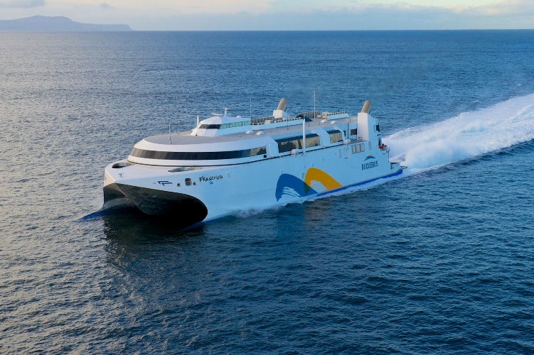 World's Fastest High Speed Ferry | Yellow & Finch Publishers