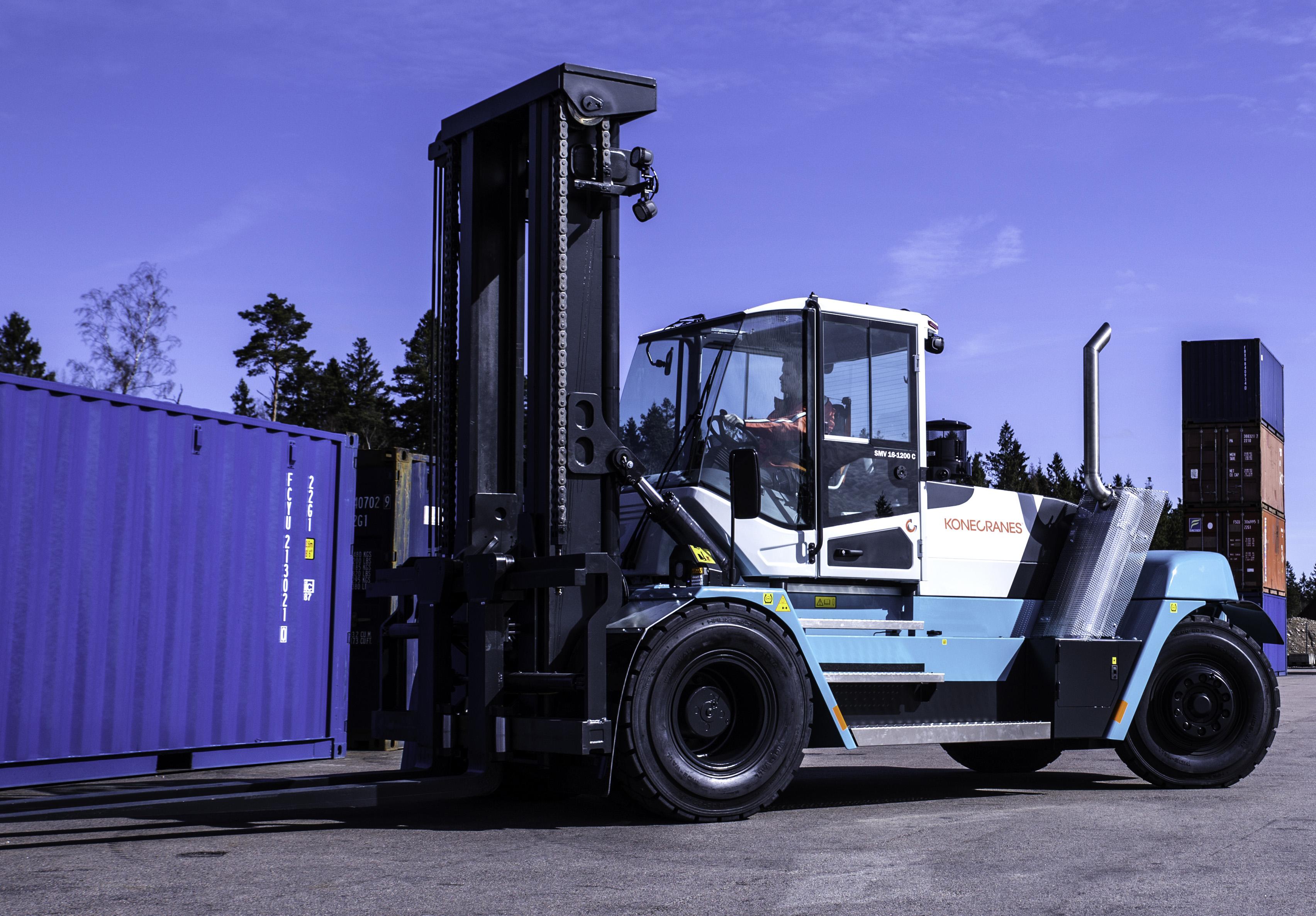 Konecranes Presents Its Next Generation Lift Trucks