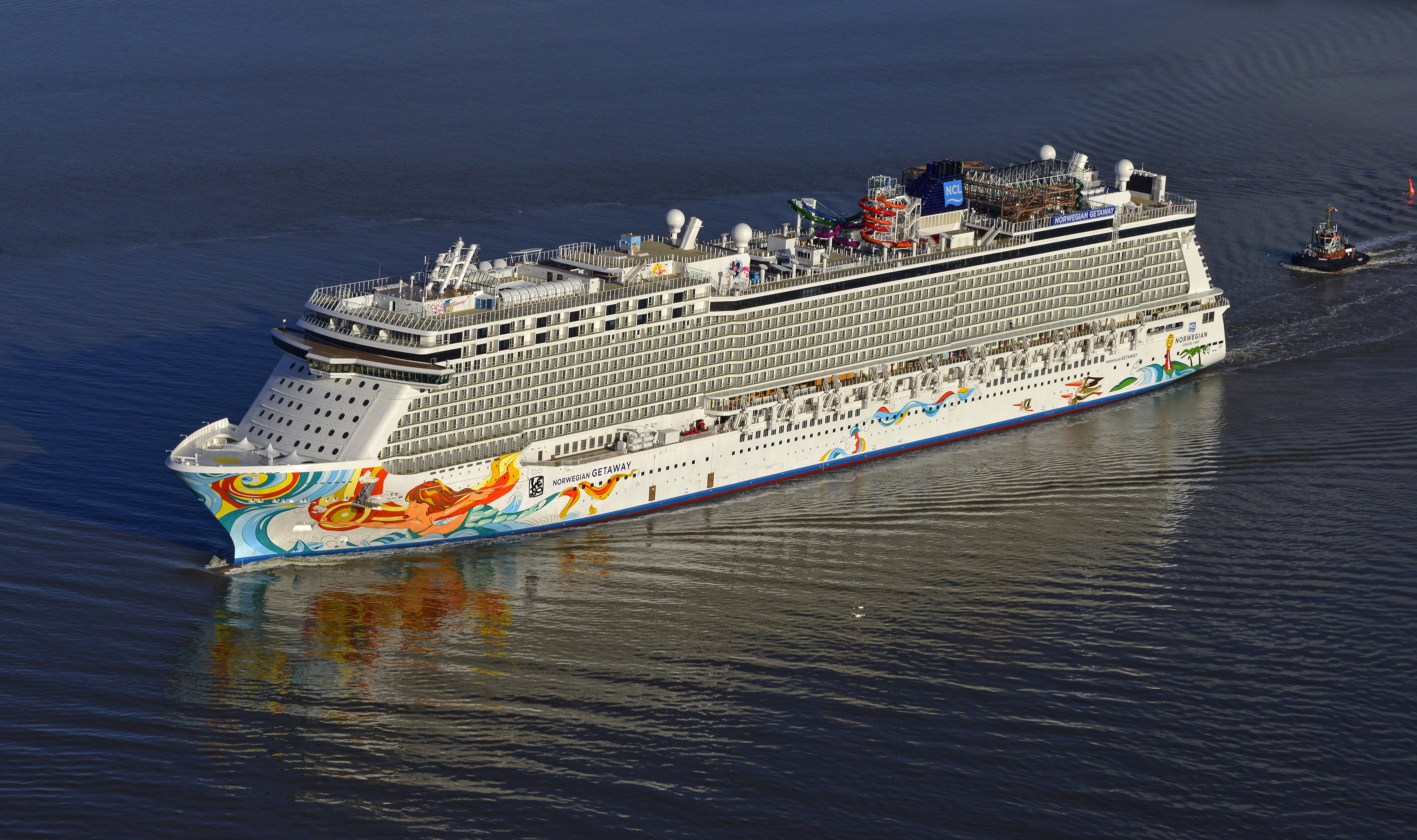 Norwegian cruise line yellow finch publishers for Ncl getaway