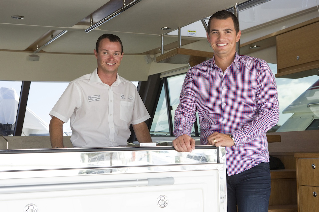 Riviera Welcomes Mr Vassallo To R Marine Perth