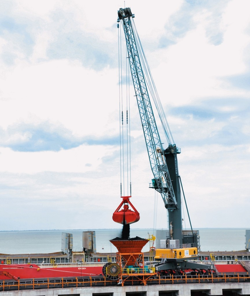 Liebherr Mobile Harbour Cranes Head For Record Year