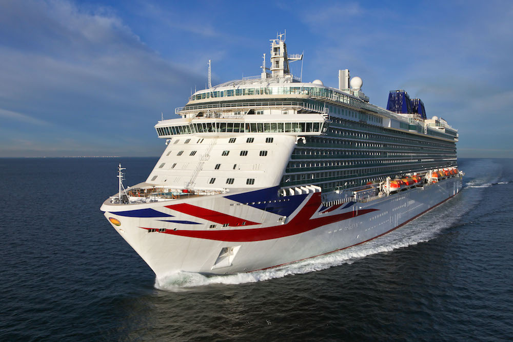 Largest Cruise Ship Ever Built By Fincantieri For PampO
