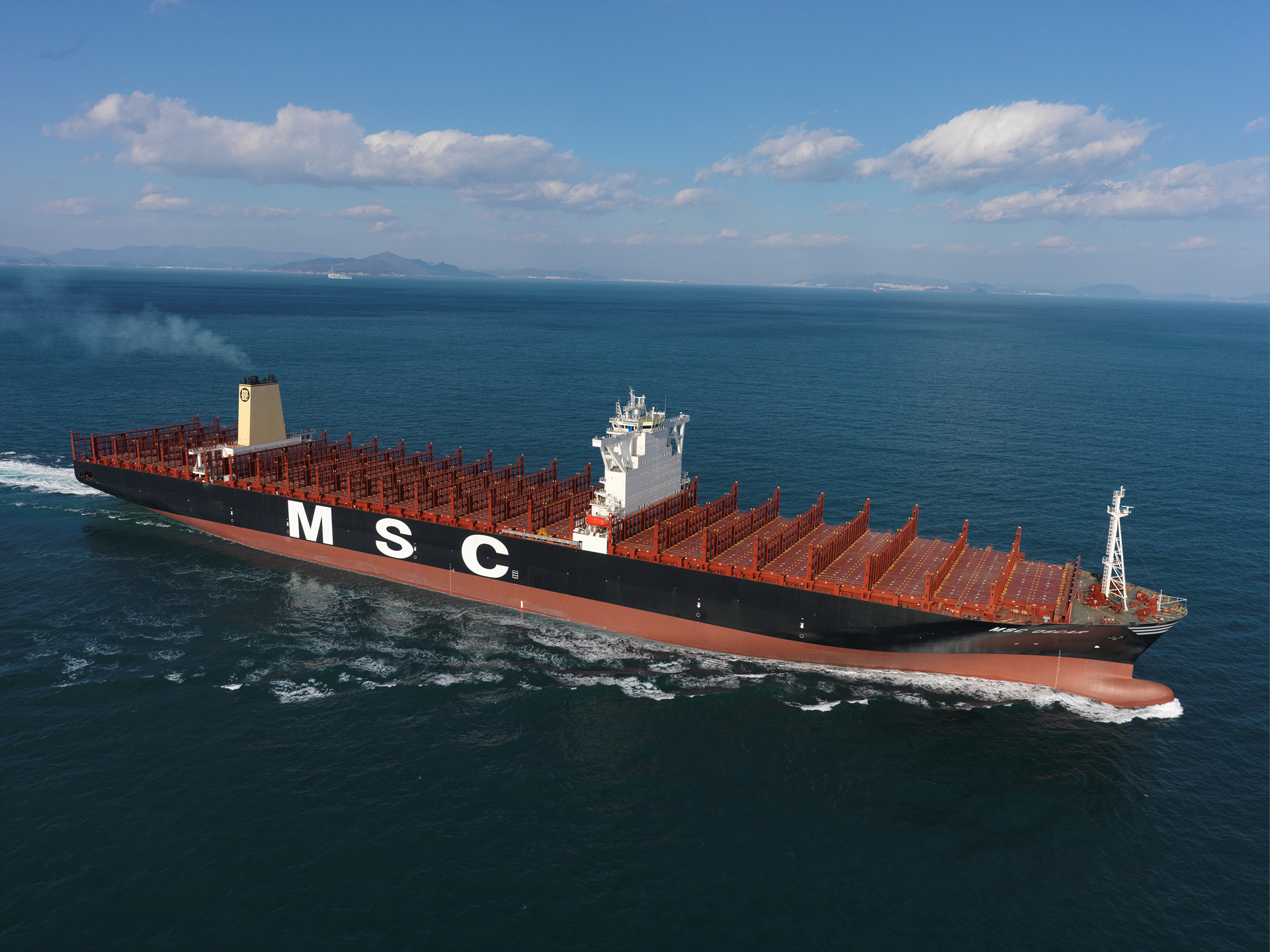 Dnv Gl Welcomes Msc Oscar World S Largest Boxship To