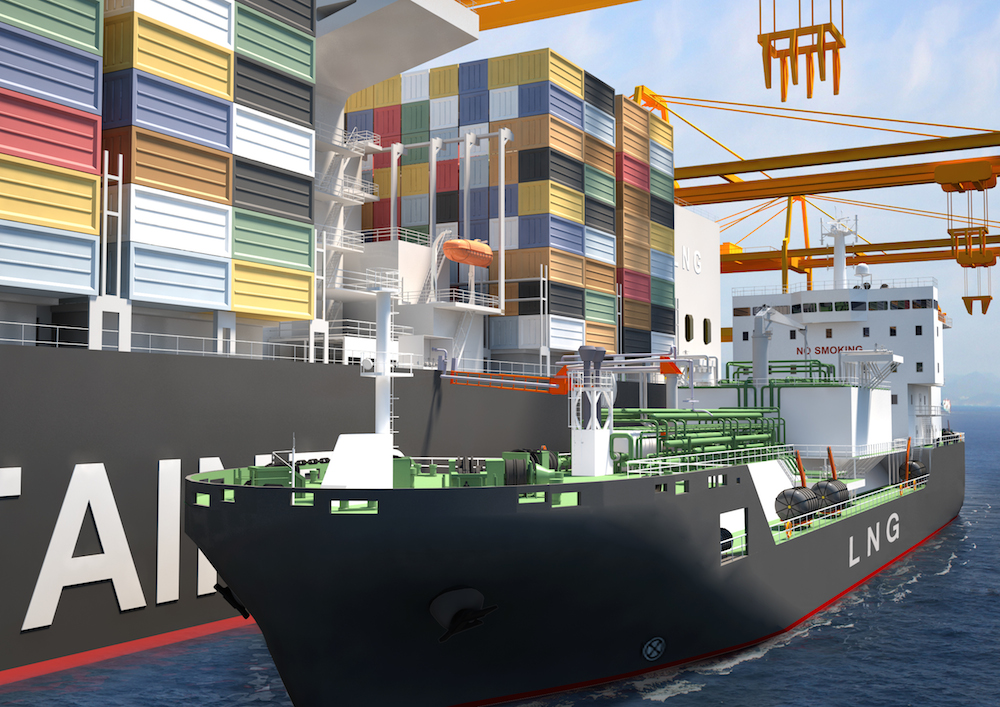 contract bunkering of vessels with fuel This will only be possible with bunker vessels coming alongside or dedicated bunker terminal for some ship types (tankers)  roro-vessel with mobile fuel gas supply – design study flensburger schiffbau, man, tge lng fuel gas systems – basic aspects.