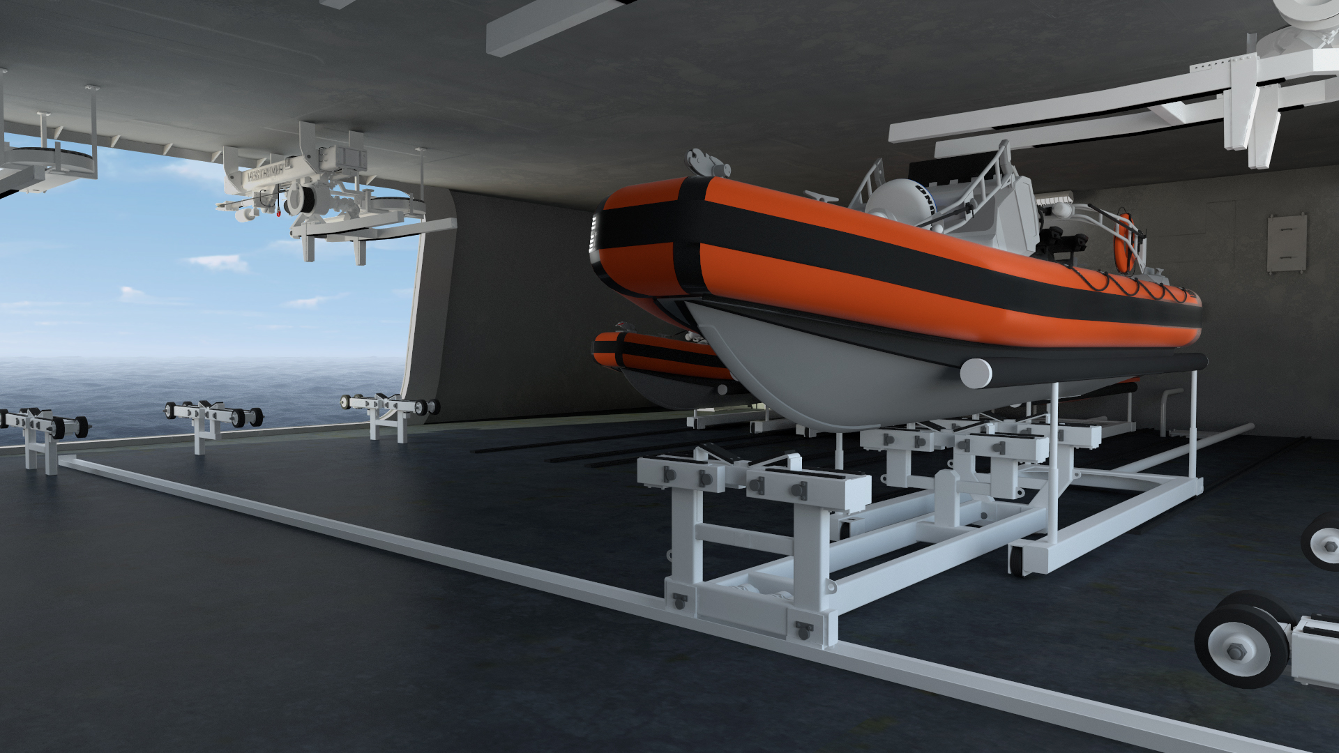 Vestdavit Launches Missionease Multi Boat Handling System