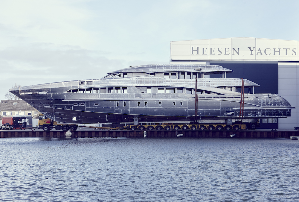 Commercial success at Heesen Yachts | Yellow & Finch Publishers