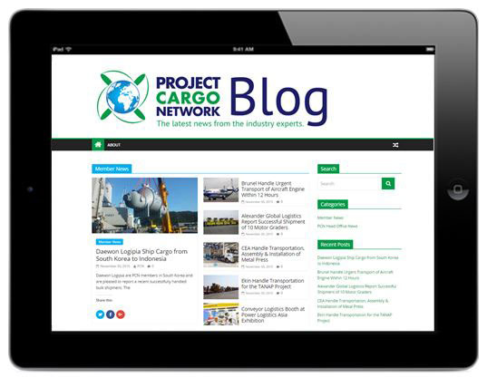 Project Cargo Network | Yellow & Finch Publishers