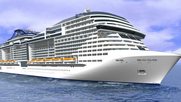 MSC Confirms Order For Four Cruise Ships  Yellow Amp Finch