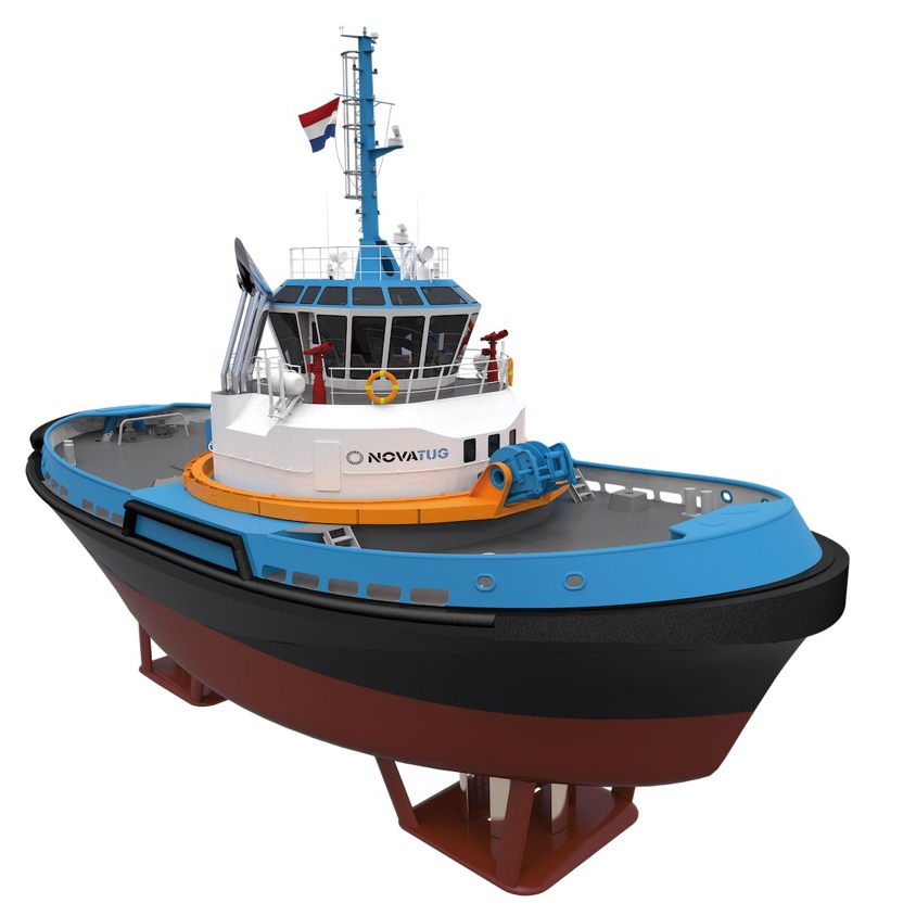 Two Evolutionary Tugs With Voith Schneider Propellers Under Construction Yellow Finch Publishers