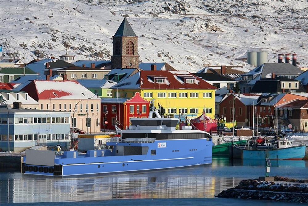 St. Pierre et Miquelon Selects Damen for Two Fast Ferries