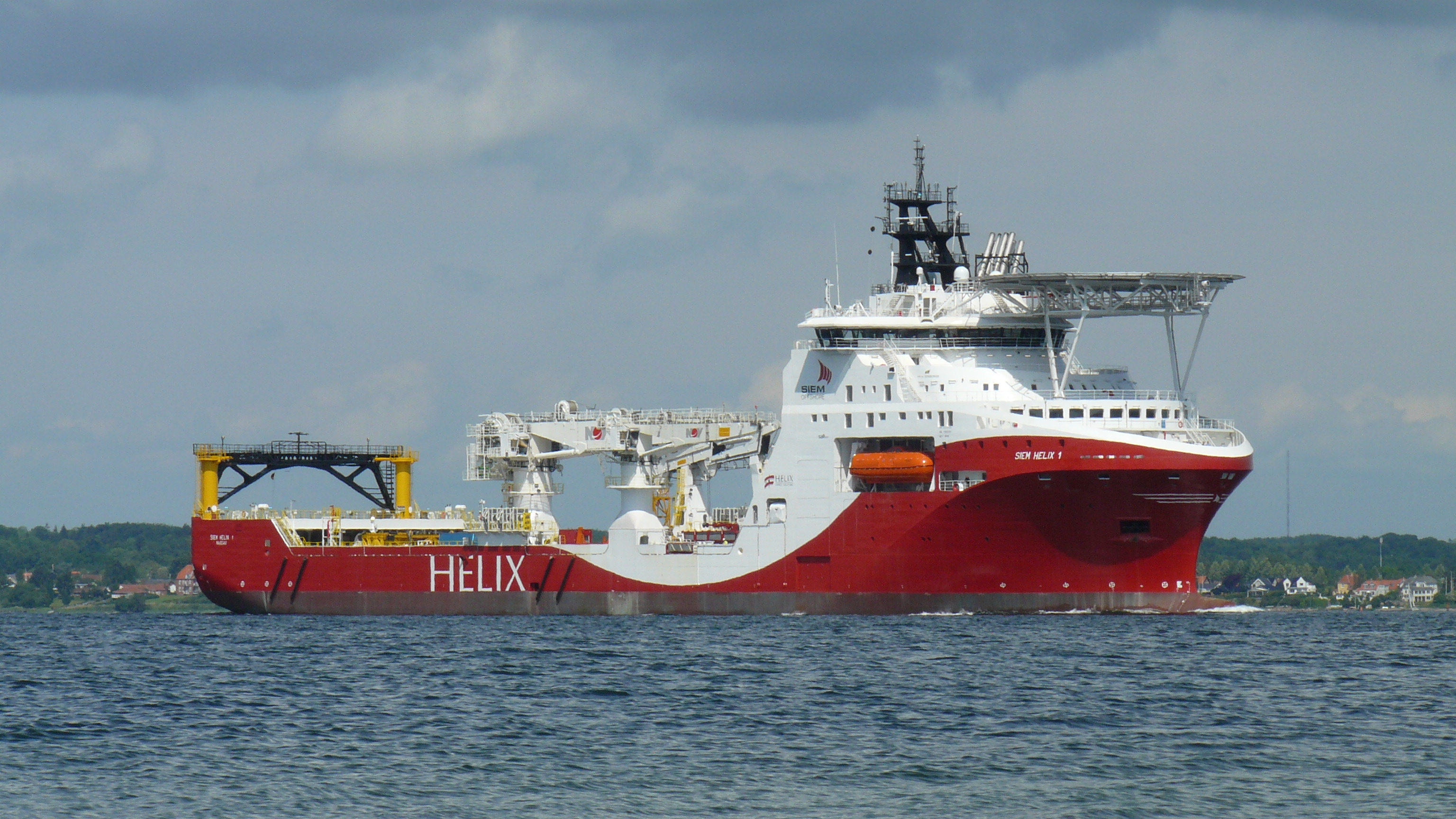 Fsg Delivers Well Intervention Vessel Siem Helix I