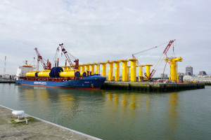 Drago J at Rebo terminal Oostende