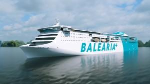 Balearia's new RoRo passenger ferry.