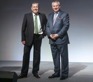 OPITO Group CEO David Doig (l) and Atlas chairman, Robert Morgan