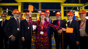 Opening Offshore Experience, photo courtesy of Marco de Swart/Maritime Museum Rotterdam