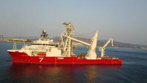 Subsea 7's Heavy Construction Flex-lay Vessel Seven Arctic