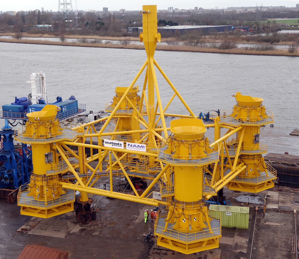 seaway heavy lifting takes delivery of seatools pre