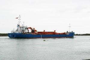 Karissa suction dredger, previously named Carissa
