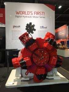 The world's first digital hydraulic motor