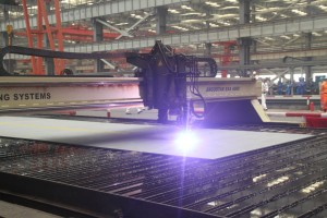 First Steel Cutting for OOS Serooskerke