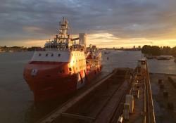 VOS Start at Damen Shiprepair Oranjewerf