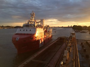 VOS Start at Damen Shiprepair Oranjewerf