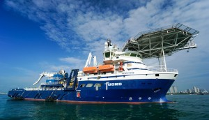 Fugro will use its support vessel 'REM Etive'