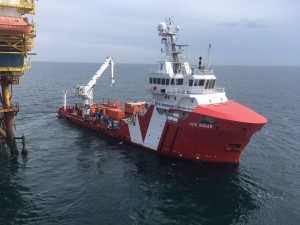 Bluestream teams up with Vroon Offshore Services
