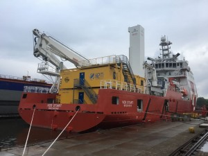 H2M has recently placed eight sleeper modules on VOS Start