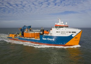 Van Oord will deploy a number of its offshore installation vessels, including cable-laying vessel Nexus.