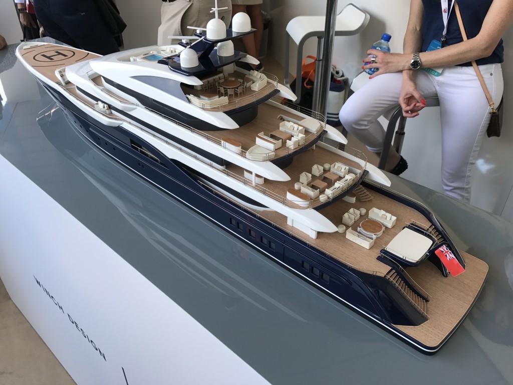 Collaboration Nobiskrug and Winch Design, Monaco Yacht Show