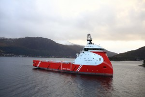 The 'Walk-to-Work Emergency Response and Rescue Vessel' (W2W ERRV) will operate as a standby and support vessel.