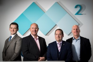 Business Development Team at M2 Subsea;  L-R:  Jack Taylor, David Sheret, David Sinclair and Hugh Taylor