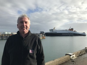 Project Manager Calum MacDonald, Development Director for Point and Sandwick Trust and the former MP for the Western Isles.