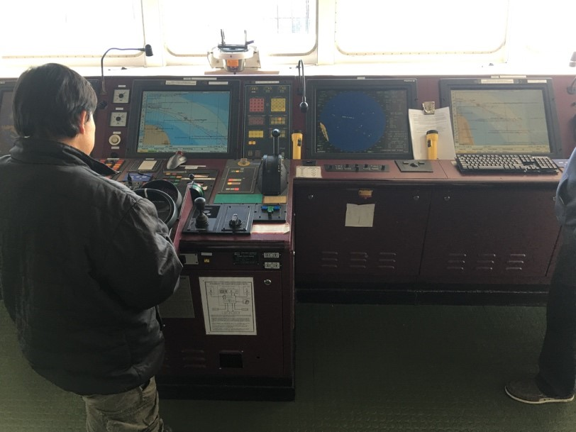 Naval Dome cyber security testing carried out at sea onboard the Zim Genova.