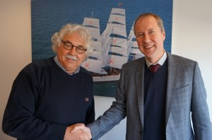 DMC NL's Managing Director, Steef Staal (left) and Financial Director, Wim Knoester (right).