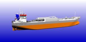 Artist impression Eureka cement carriers.