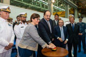 Fincantieri starts construction of first corvette for Qatar