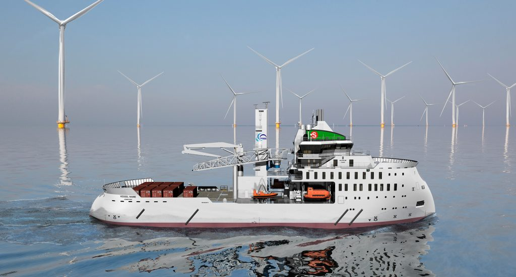 Ulstein signed New Contract in Offshore Wind