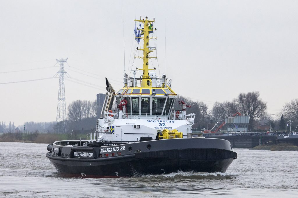 Voith has developed this new kind of tugboat in collaboration with R. Allan Ltd. (RAL) and Novatug B.V.