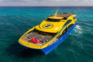 Incat Crowther is pleased to announce the delivery of Ultramar II, the second in a series of high capacity 48m Catamaran Passenger Ferries for Mexican operator Ultramar.