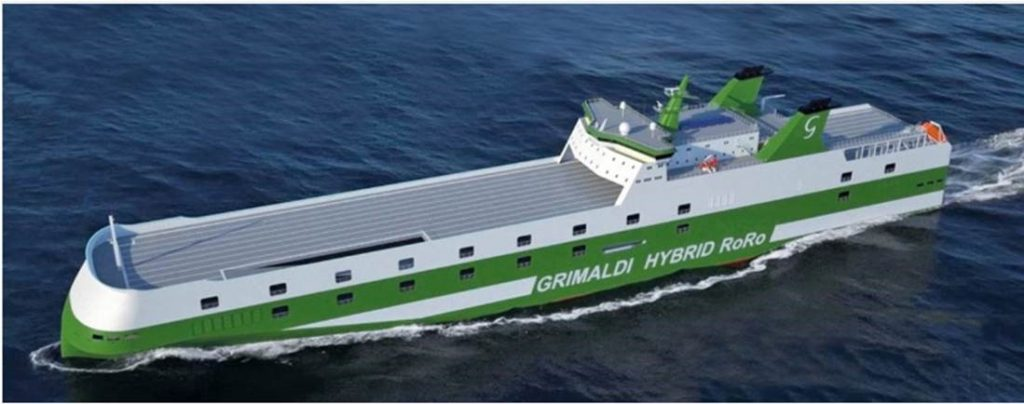 Kongsberg Maritime: KONGSBERG Wins Contracts for Nine Hybrid Ro-Ro Vessels