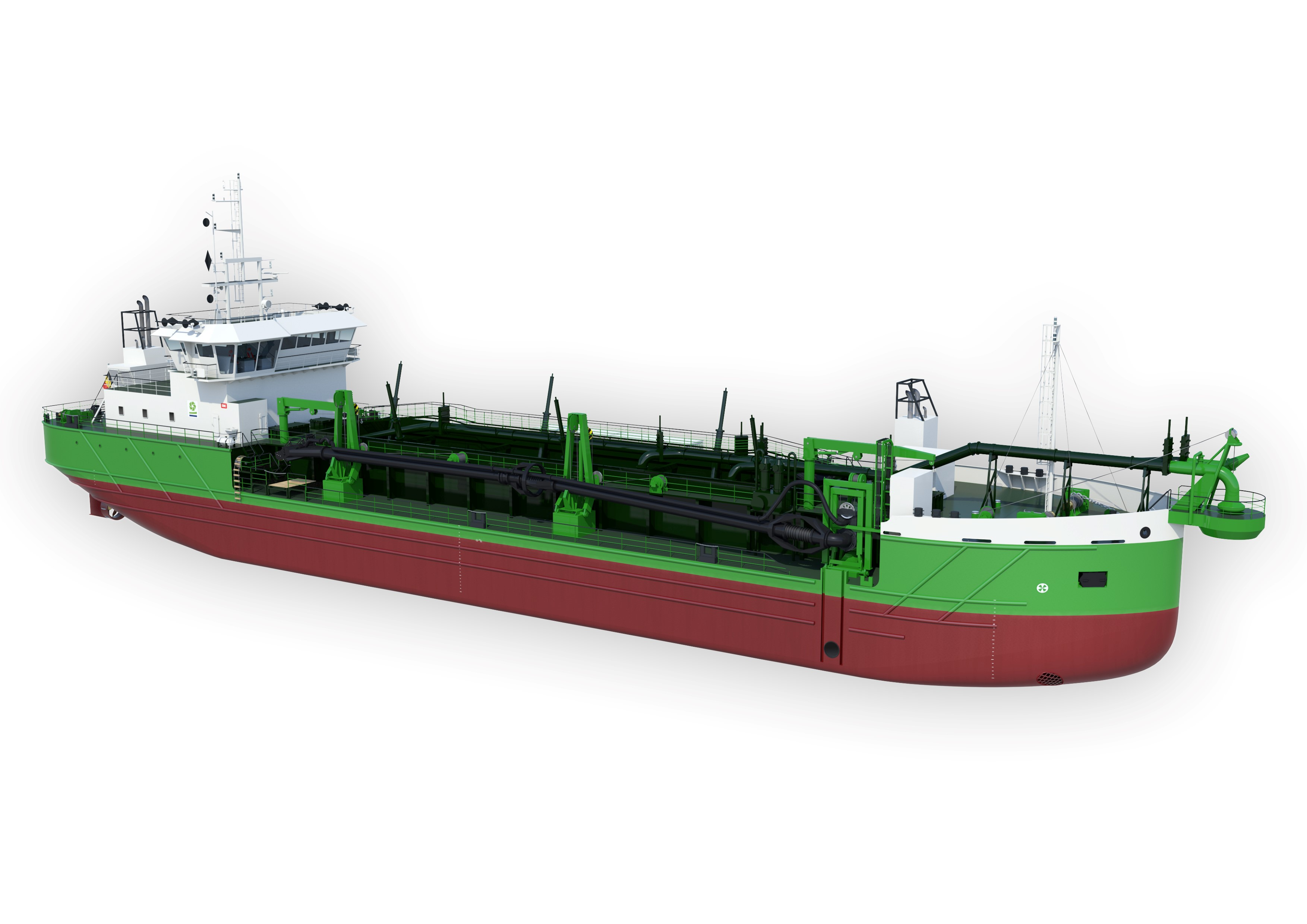 Royal IHC to Build Four New Vessels for DEME