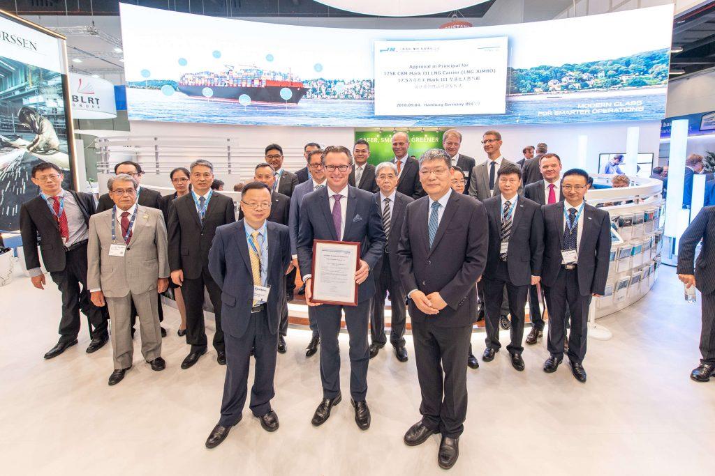 "DNV GL awards AiP to Jiangnan Shipbuilding Company for 175K CBM Mark III Flex LNG Carrier ""LNG JUMBO"""