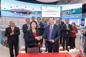 DNV GL and DSIC Signed JDP to Develop LNG Fuelled 23,000 TEU Ultra Large Container Vessel