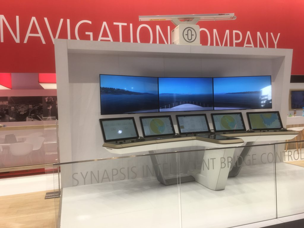 Raytheon Anschütz unveiled a new suite of navigational software, designed for intuitive operation and enhanced with smart functionality. The new Radar NX and ECDIS NX software complete the Synapsis NX series of innovative bridge navigation systems.