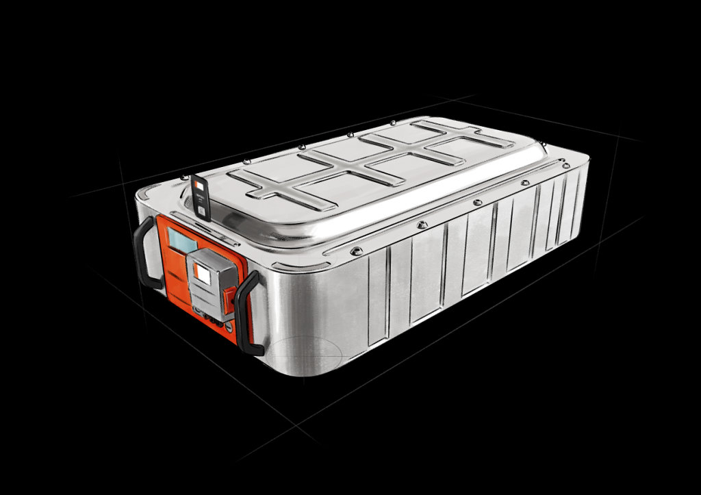 The high-temperature resistant Tmax-Battery Housing for lithium-ion systems provides maximum safety, extended battery range and longer battery life cycle.