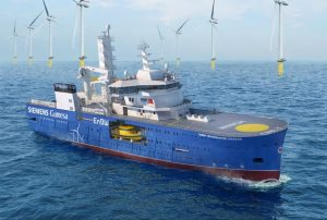 Bakker Sliedrecht again involved in building offshore support vessel Bibby WaveMaster Horizon by Damen