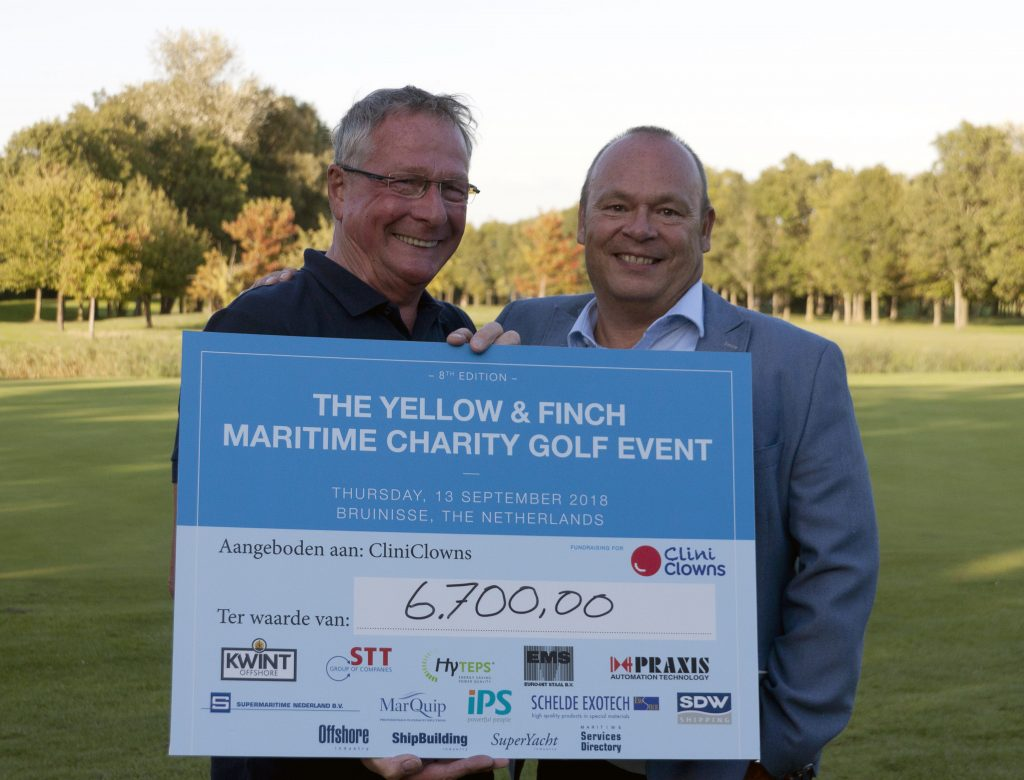 Maritime Charity Golf Event 2018